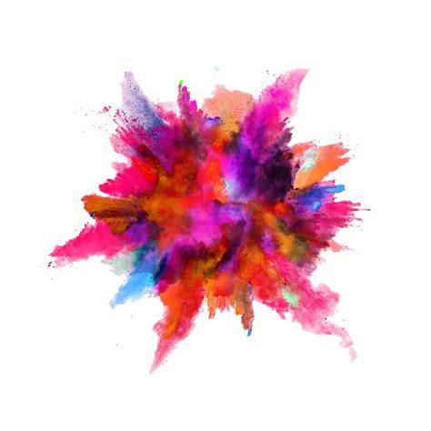 color dust color powder explosion png image purepng free