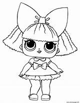 Lol Coloring Doll Queen Glitter Dolls Printable Surprise Clipart Supercoloring Bee Colouring Para Omg Super Imprimir Pintar Sheets Toys Desenhos sketch template