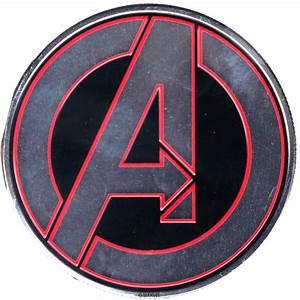 Marvels The Avengers Logo Heavy Duty Metal Sticker