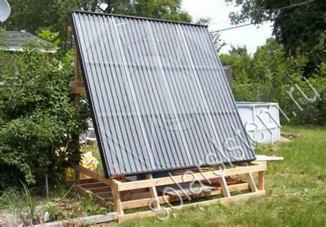 Солнечные коллекторы как альтернативный вид энергии
