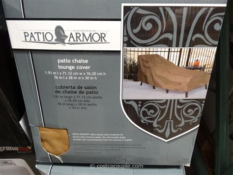Kirkland Patio Furniture Covers by Patio Armor Chaise Lounge Cover