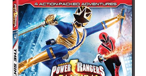 DVD Review - Power Rangers Samurai: Volume 4: The Sixth ...