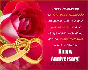wedding anniversary messages for husband wordings and With wedding anniversary message to husband
