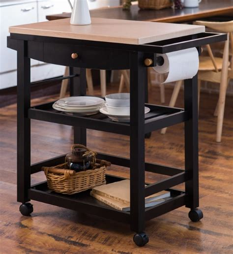 kitchen cart ideas  wheel  home  homesfeed