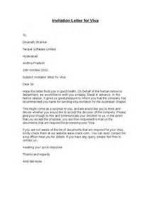 invitation letter template for us visa