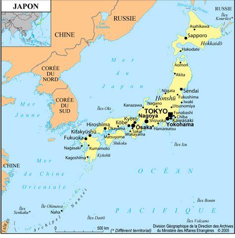 Carte Du Monde Japon by Le Japon Et La Cor 233 E 224 La Mondialisation