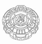 Coloring Pages Beyblade Anime Birthday Printable sketch template