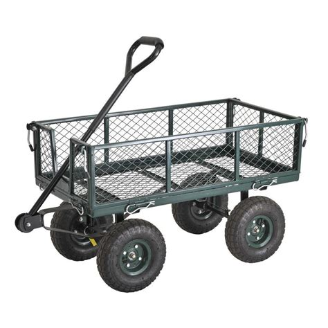 depot wagon shop edsal 21 1 2 in utility cart at lowes Home