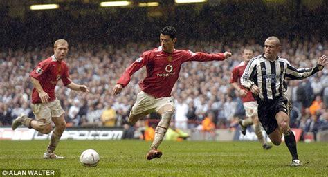 Manchester United signed Cristiano Ronaldo ten years ago ...