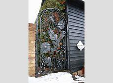 Beautiful Garden Door Embellished Exterior – Fresh Design