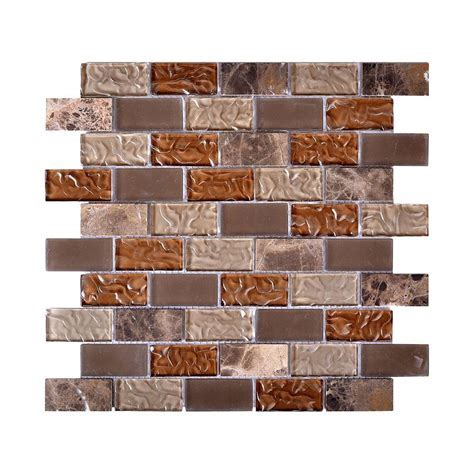 Instant Mosaic Upscale Designs Mesh Mounted Glass and