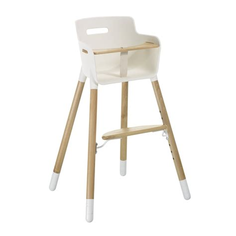 chaise haute bois evolutive chaise haute évolutive hêtre flexa pour chambre enfant