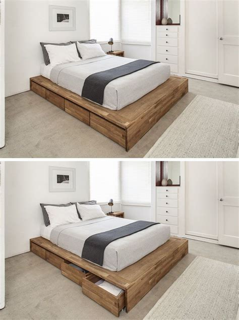 Bett Mit Aufbewahrung by 9 Ideas For The Bed Storage Eight Large Rolling