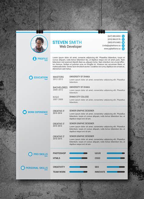 Resume Portfolio Free by Resume Cover Latter Portfolio Template Free On Behance