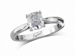 091ct cushion h single stone diamond ring With single stone wedding rings
