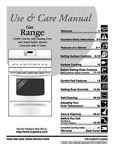 Frigidaire Range Es400 User Guide