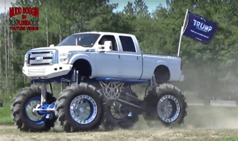 monster mud trucks videos this quot million dollar quot monster ford mud truck doesn t make