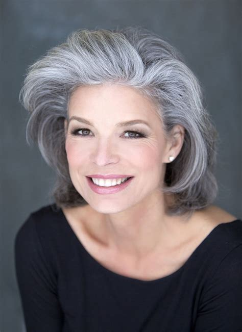 328 Best Images About Silver And Grey Hair Styles On