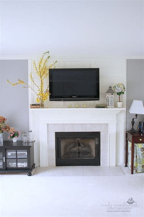 decorating fireplace mantel with tv above decorating a mantel with a tv above mantels decorating