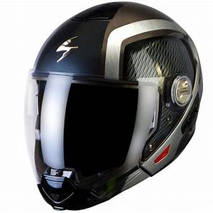 Casque Moto Futuriste : casques transformables scorpion exo 300 air grid anthracite metal alu ~ Melissatoandfro.com Idées de Décoration