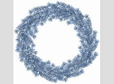 Christmas Wreath Blue PNG Clip Art Gallery Yopriceville