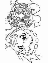 Beyblade Valt Aoi Coloring Burst Turbo Printable Rise Dante Koryu Birthday Draw Step sketch template