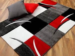 Teppich Rot Grau : maui designer teppich rot grau karo in 4 gr en lidl deutschland ~ Whattoseeinmadrid.com Haus und Dekorationen