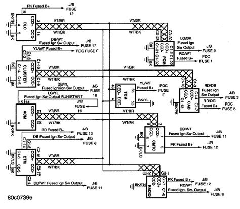 Ac Wiring Diagram 97 Dodge Ram Up by 1993 Dodge Dakota Cooling System Diagram Auto Engine And