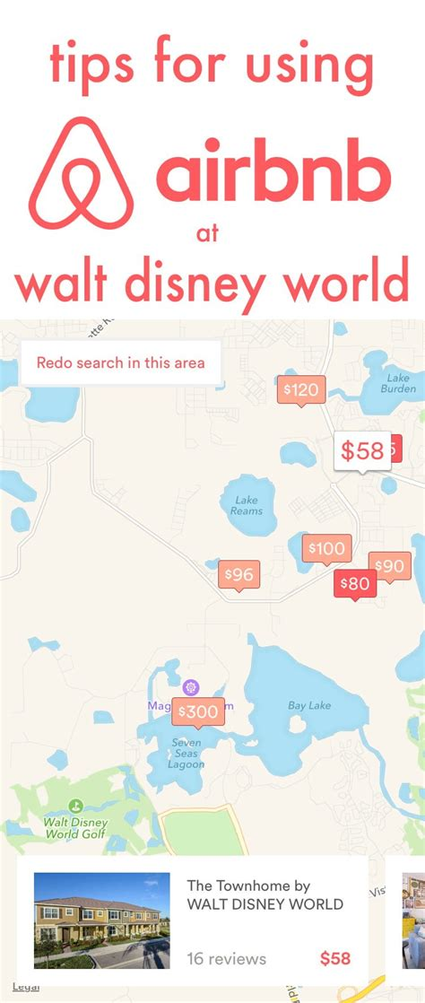 tips for using airbnb disney tourist