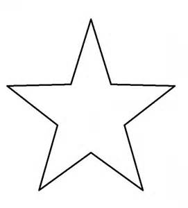 5 Point Star Template Printable