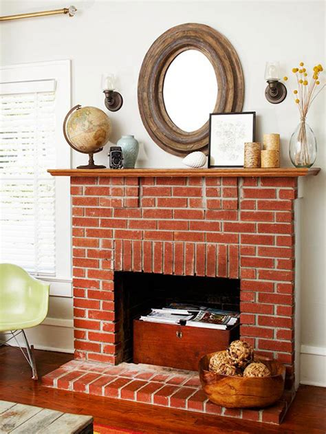 working fireplace decorating ideas   home