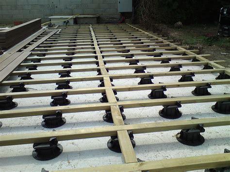 nivrem structure terrasse bois sur plot diverses id 233 es de conception de patio en bois