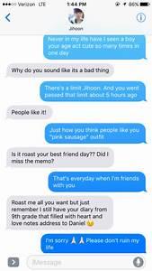 wanna one jisung texts | Tumblr