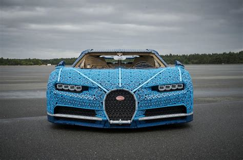 With lego technic you can build for real, the danish toy company announced. Full-scale, moving Bugatti Chiron made from Lego revealed   Autocar