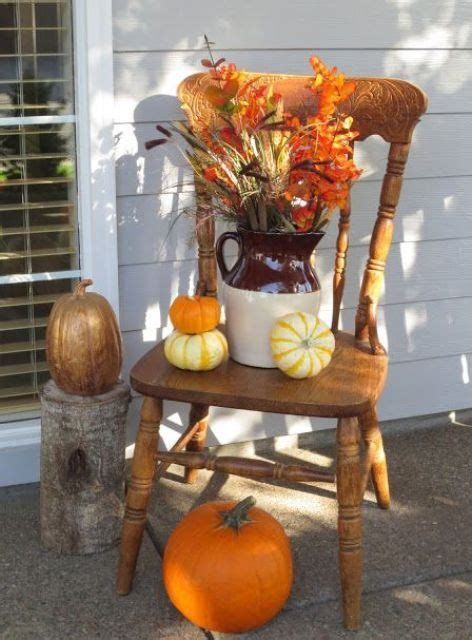 Exterior Extraordinary Porch Decorating Ideas For Fall