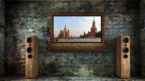 creative russian tv wallpaper allwallpaperin  pc