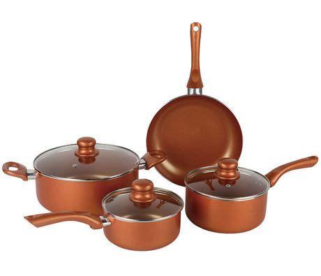 brentwood copper ceramic coated  pc cookware set walmart canada