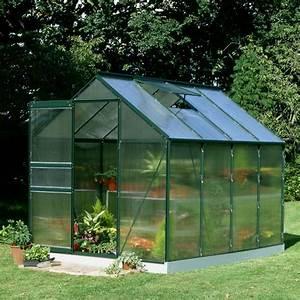 Serre De Jardin Polycarbonate : serre de jardin 5m verte en polycarbonate 4mm popular halls ~ Dailycaller-alerts.com Idées de Décoration