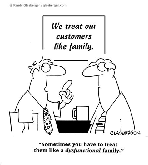 customer service call center randy glasbergen