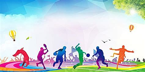 Sports Background Designs by Flat Sports Background In 2019 Sports Day Banner Design