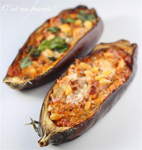 la cuisine italienne recettes c 39 est ma fournée les aubergines farcies sans viande