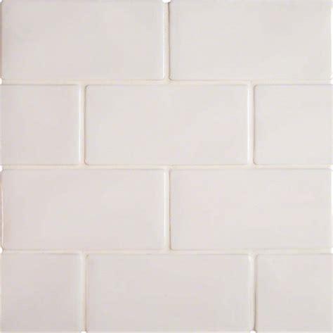 highland park whisper white 3x6 matte porcelain subway tile
