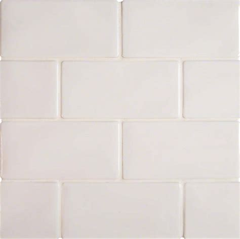 Highland Park Whisper White 3x6 Matte Porcelain Subway Tile