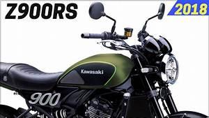 Kawasaki Z900rs 2018 : new 2018 kawasaki z900rs retro classic design modern in three color options youtube ~ Medecine-chirurgie-esthetiques.com Avis de Voitures