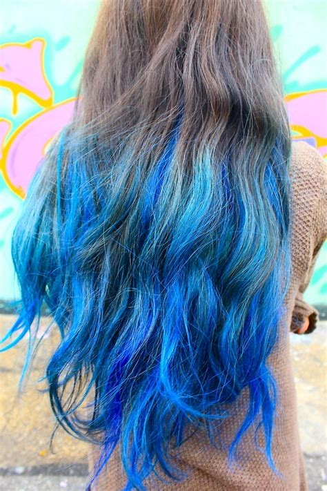 Love This So Much I Want Blue Tips So Bad