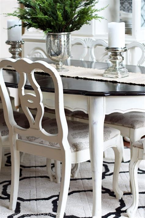 painted dining room table ideas house  decor