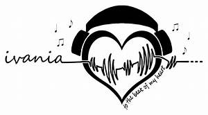 Music is Life Tattoo Idea   Tattoo ideas   Pinterest