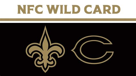 saints  bears  nfc wild card preview series history