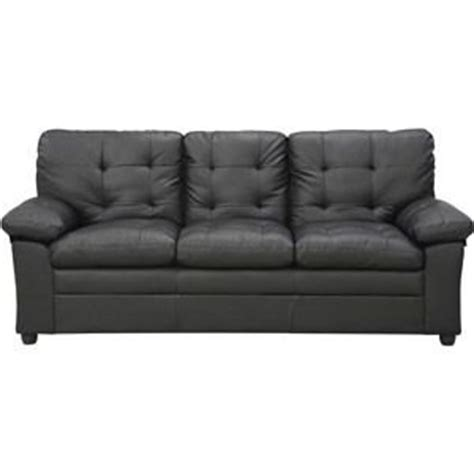 buchannan microfiber sofa bed modern black buchannan faux leather sofa