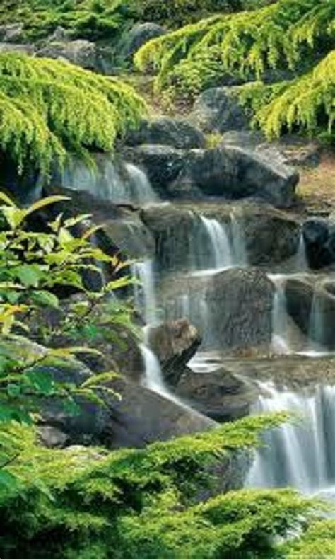 waterfall lock screen hd apk   android